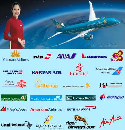 Bảng giá vé máy bay tại Vinh Nghệ An