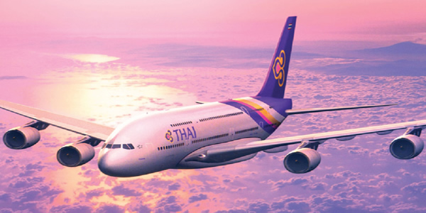 Vé máy bay Thai Airways International Thái Lan