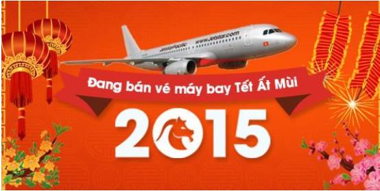 Đặt mua vé máy bay Tết 2015 tại TP Vinh Nghệ An